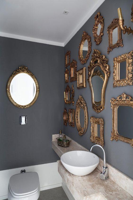 espelhos na parede 1