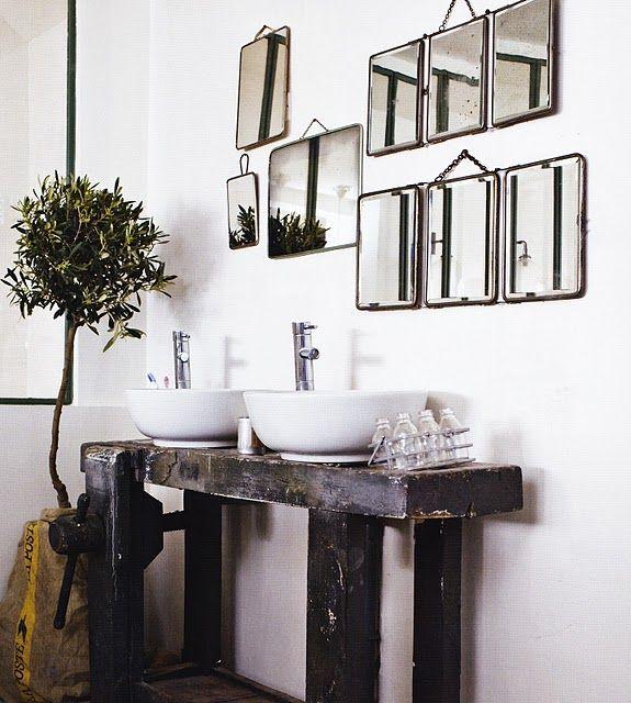 espelhos na parede 10
