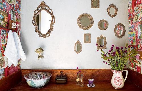 espelhos na parede 11