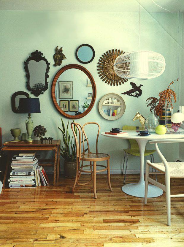 espelhos na parede 12