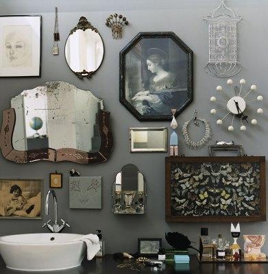 espelhos na parede 13