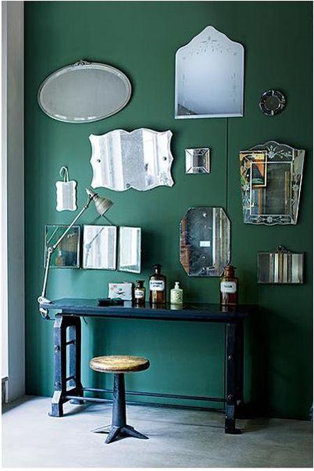 espelhos na parede 14