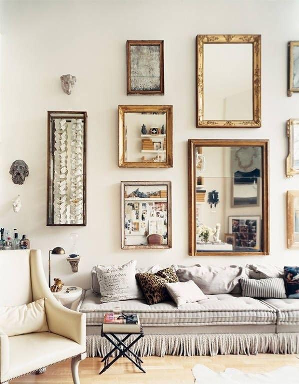espelhos na parede 2