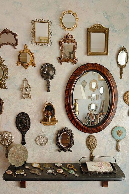 espelhos na parede 7