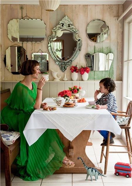 espelhos na parede 8