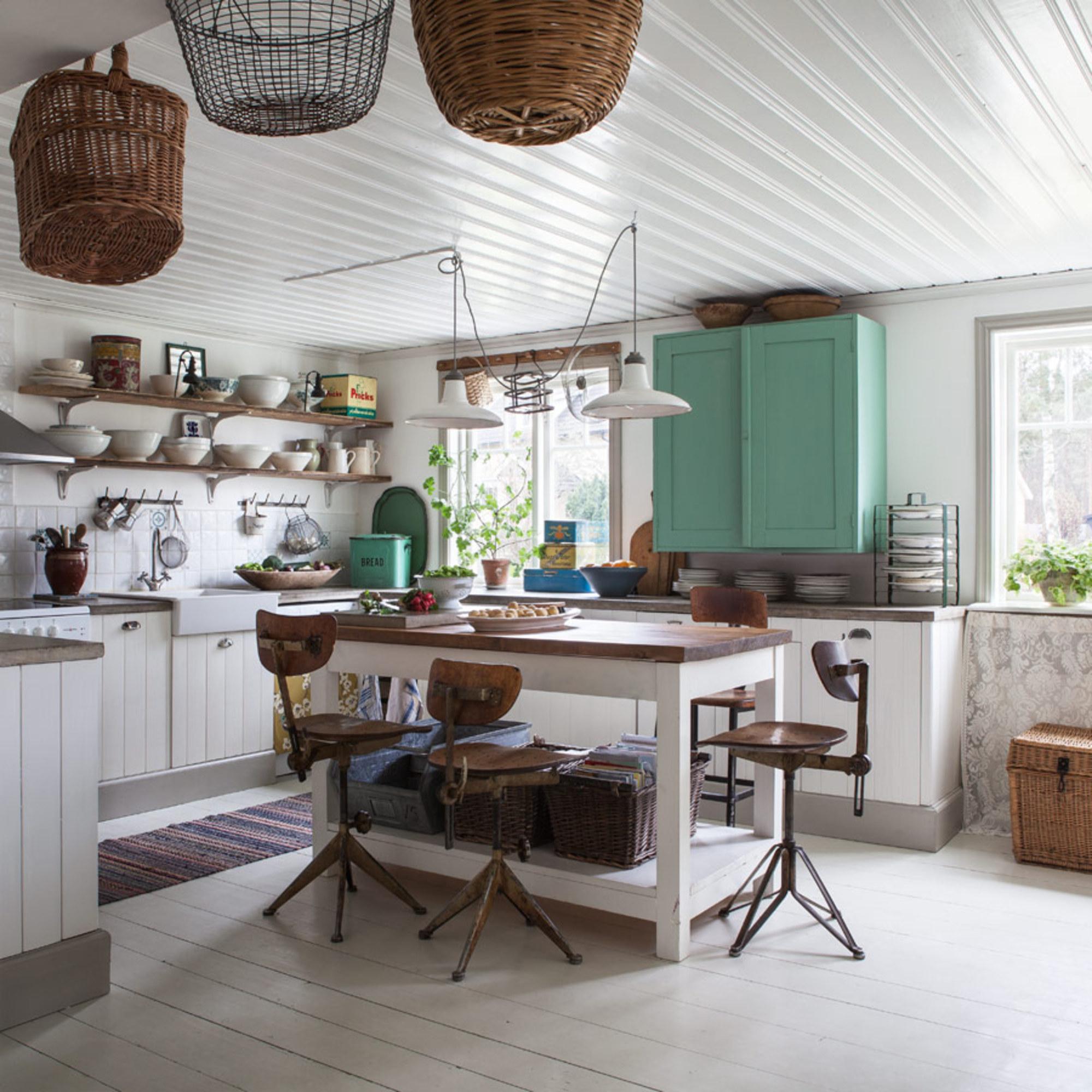 Cozinha Shabby Chic Casa De Valentina