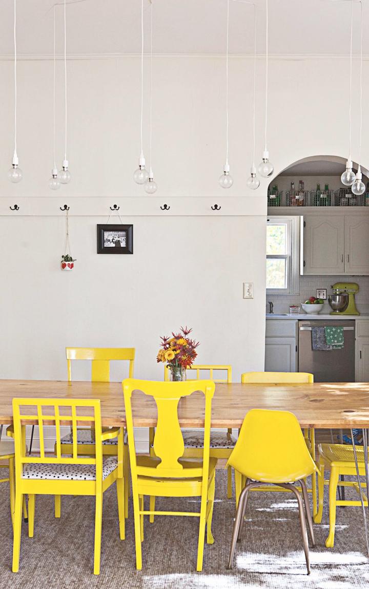 Uma Sala De Jantar Muitas Ideias Casa De Valentina