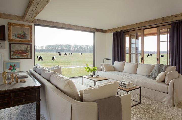 Mix r stico e moderno na fazenda casa de valentina for Piso rustico moderno