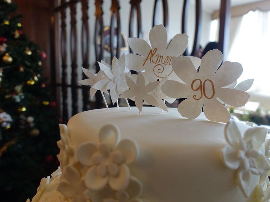 O Aniversário Super Delicado De 90 Anos Da Minha Avó Casa De Valentina