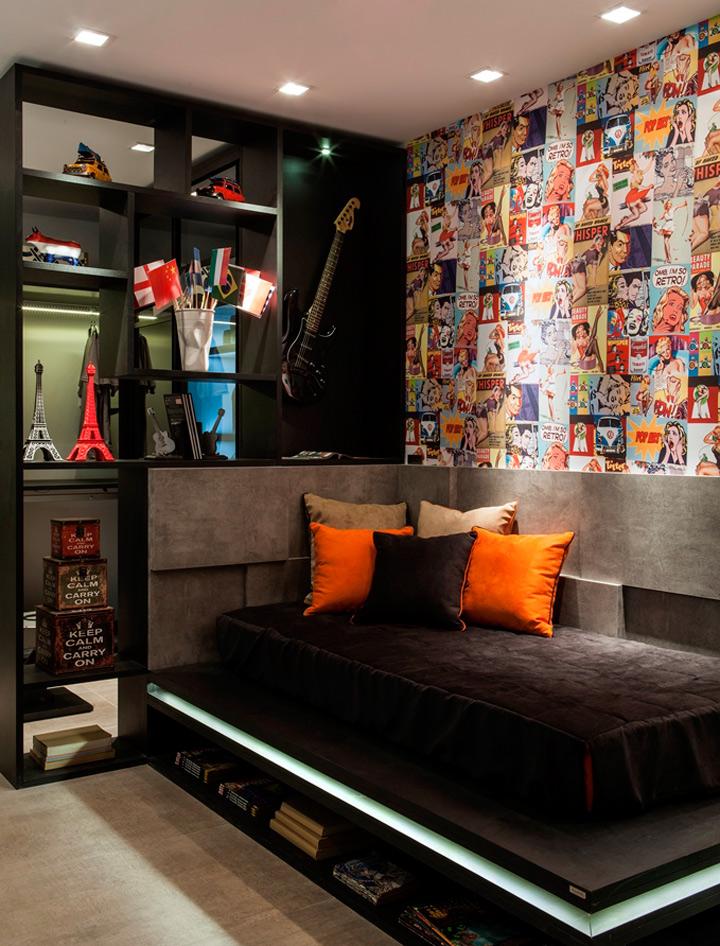 Todo adolescente quer um quarto novo casa de valentina for Quadros dormitorio
