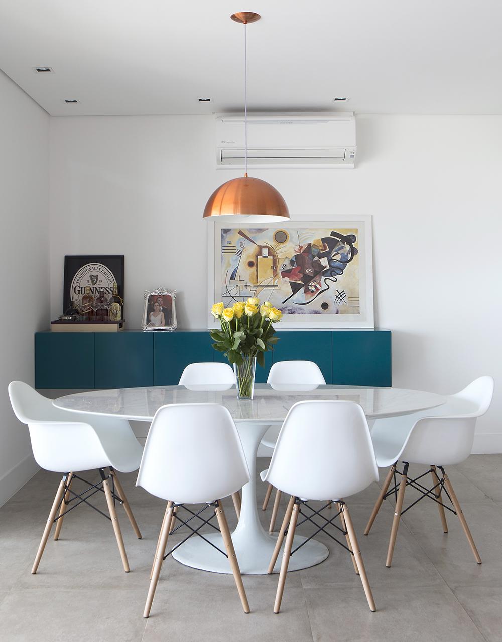 Por Uma Vida Mais Confort Vel Casa De Valentina -> Decoracao Sala De Jantar Azul