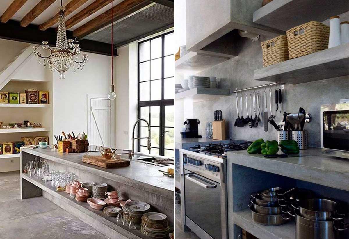 Ilha De Cozinha Feita De Alvenaria Ideias Para Ter Uma Cozinha