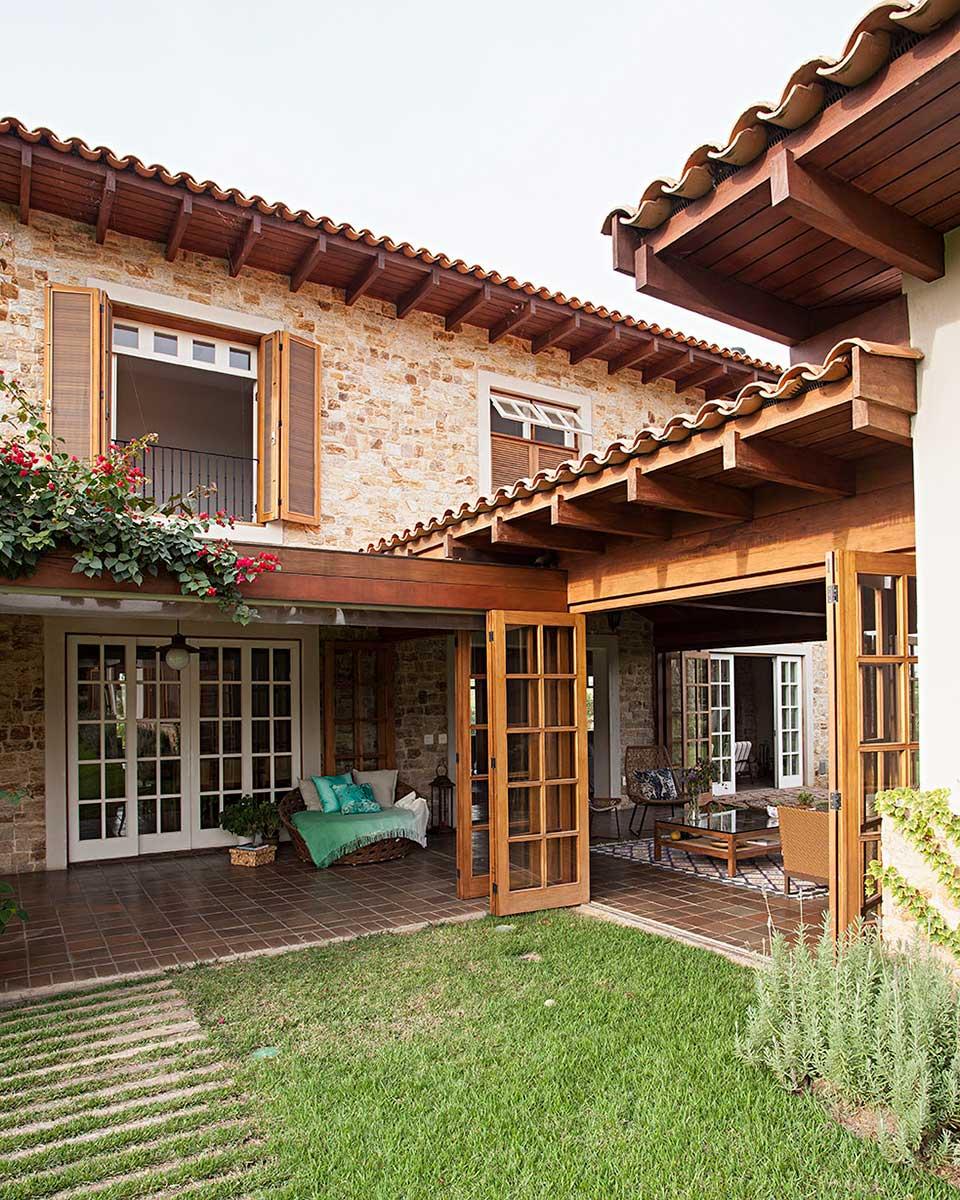 Casa de campo r stica casa de valentina for Casa campo y jardin