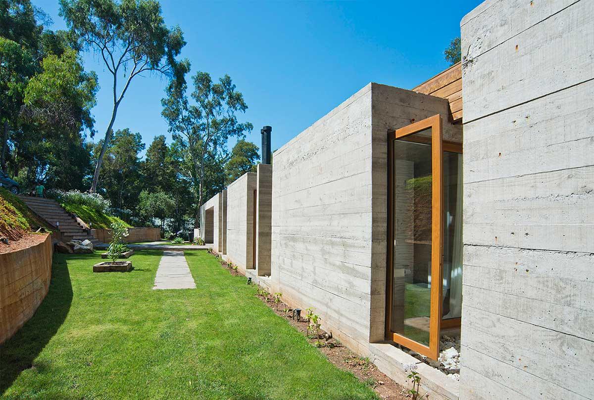 uma casa clara de concreto casa de valentina. Black Bedroom Furniture Sets. Home Design Ideas