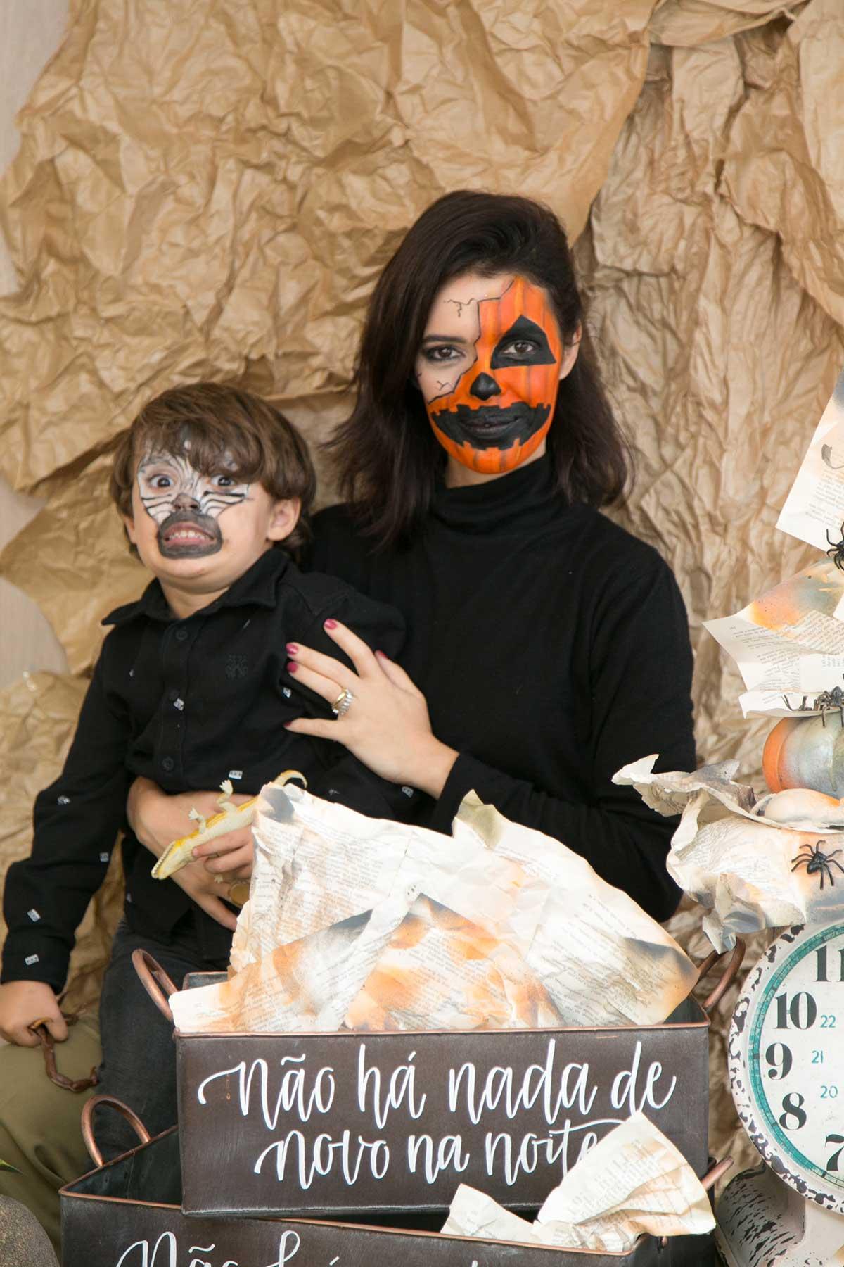 Tem Na Web - Festa Halloween em Casa